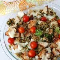 Grilled Chicken Casserole
