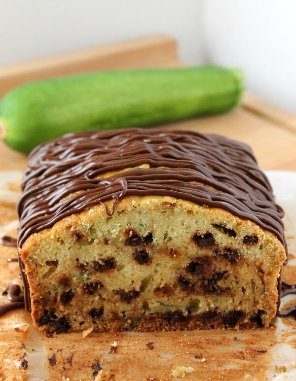 Chocolate Zucchini Bread - The Bitter Side of Sweet