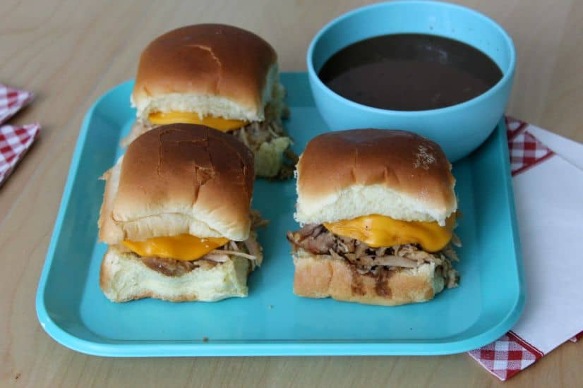 Pork Sliders - The Bitter Side of Sweet #sponsored
