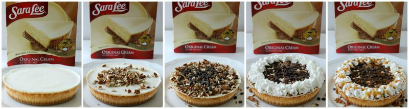 Turtle Cheesecake - The Bitter Side of Sweet #UniquelyYours #ad