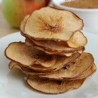 Baked Apple Chips (2 Ways)