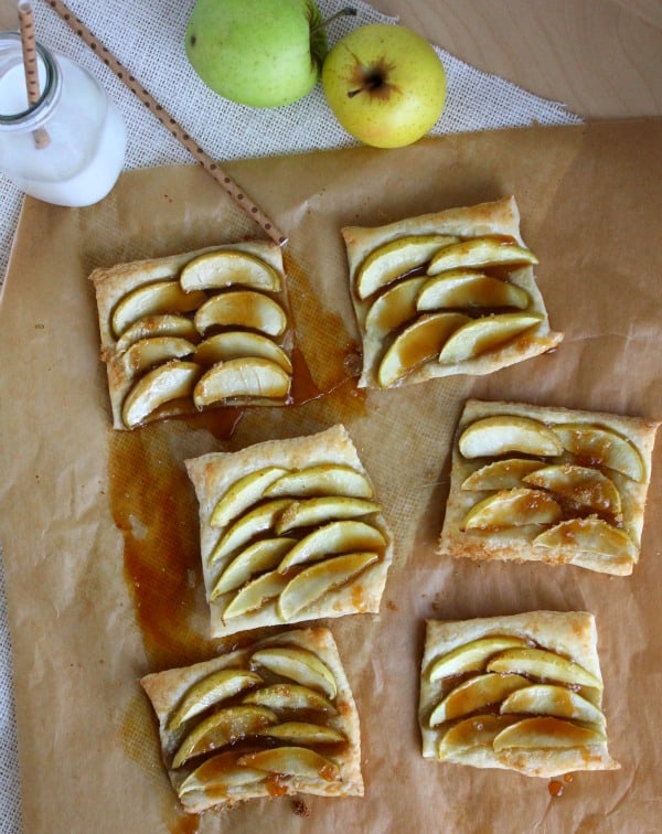 Caramel Apple Tarts | The Bitter Side of Sweet