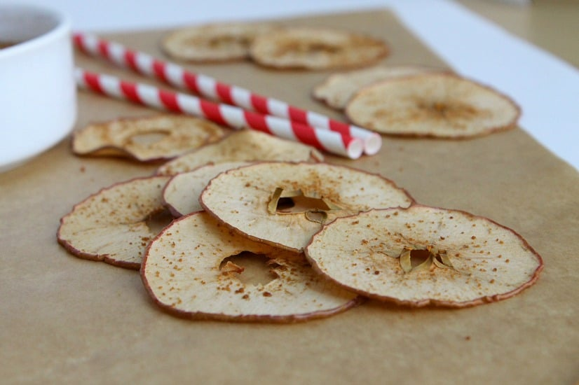 Baked Apple Chips | The Bitter Side of Sweet