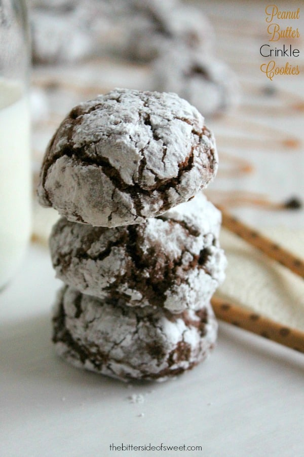 Peanut Butter Crinkle Cookies - The Bitter Side of Sweet #BakeMagicMoments #ad #Target
