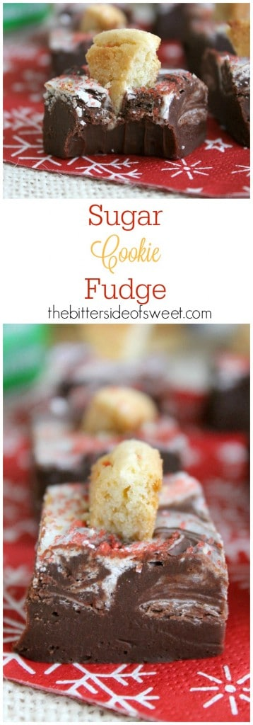 Sugar Cookie Fudge - The Bitter Side of Sweet #DelightfulMoments #ad
