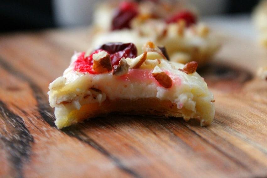 Cranberry Pecan Cheesecake Tartlets - theBitterSideofSweet