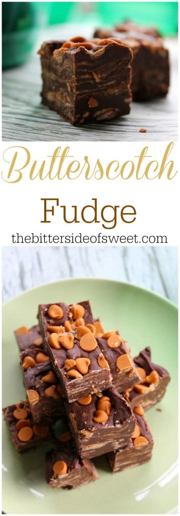Butterscotch Fudge - The Bitter Side of Sweet #ShareTheHoliday #ad