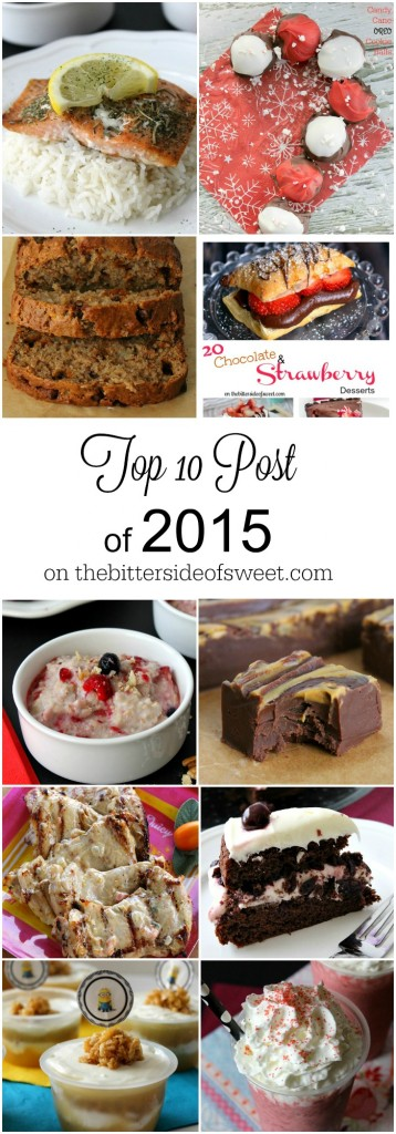 Top 10 Post of 2015 - The Bitter Side of Sweet