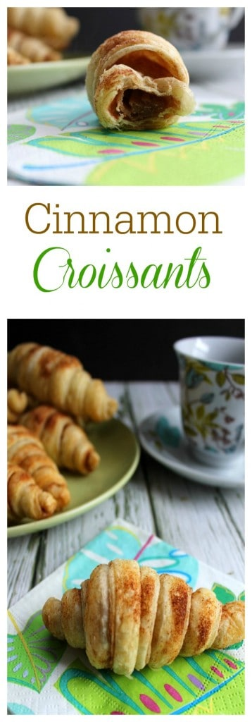 Cinnamon Croissants  | The Bitter Side of Sweet
