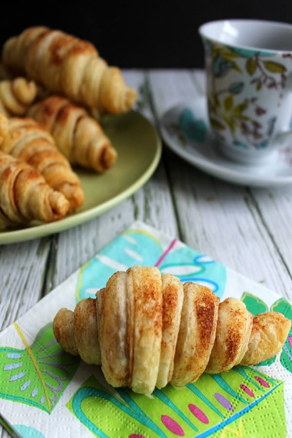 Cinnamon Croissants  | The Bitter Side of Sweet