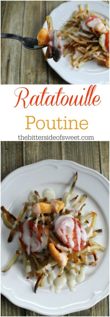 Ratatouille Poutine | The Bitter Side of Sweet #SundaySupper #FWCon