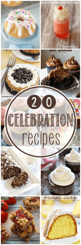 20 Recipes Perfect for Celebrations - The Bitter Side of Sweet