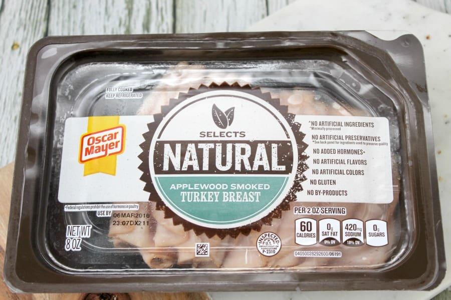 Whole Wheat Smoked Turkey Bruschetta - The Bitter Side of Sweet #OscarMayerNatural #sponsored