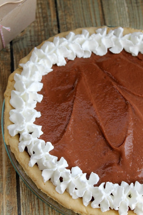 Chocolate Pudding Pie - The Bitter Side of Sweet