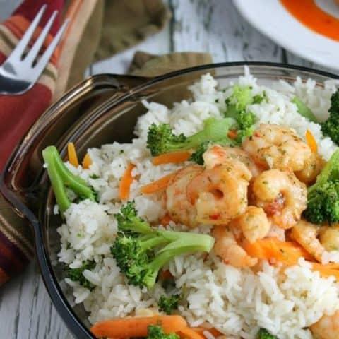 Shrimp Broccoli Rice