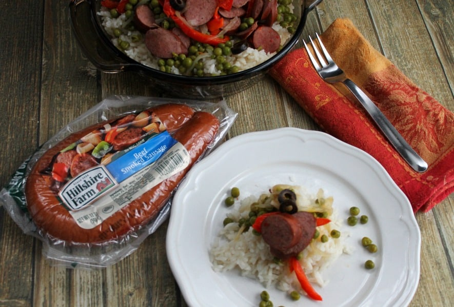 Turkey  Veggie Rice  | The Bitter Side of Sweet Sponsored by Hillshire Farm®