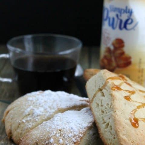 Vanilla Caramel Scones