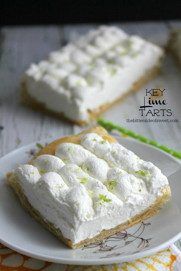 ... how much I love tarts but seriously these Key Lime Tarts are THE BEST