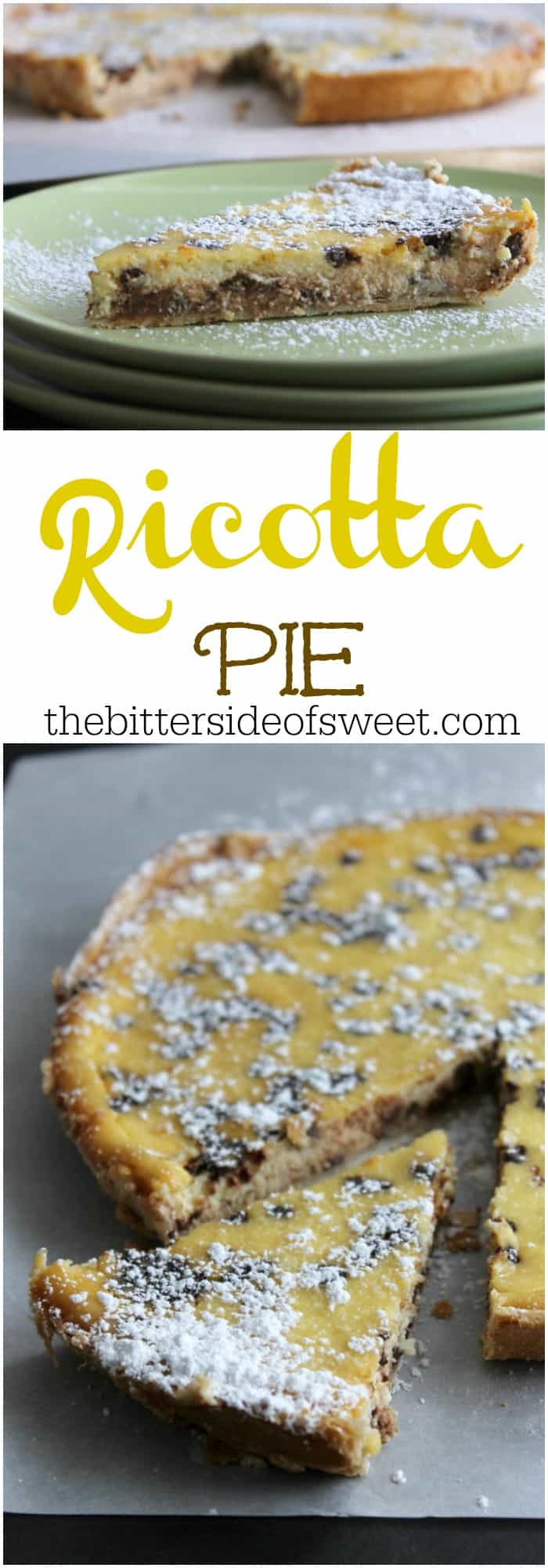 Ricotta Pie Fwcon Makeitwithmilk The Bitter Side Of Sweet