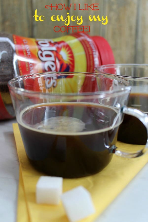 How I Like to Enjoy My Coffee! | The Bitter Side of Sweet #sponsored