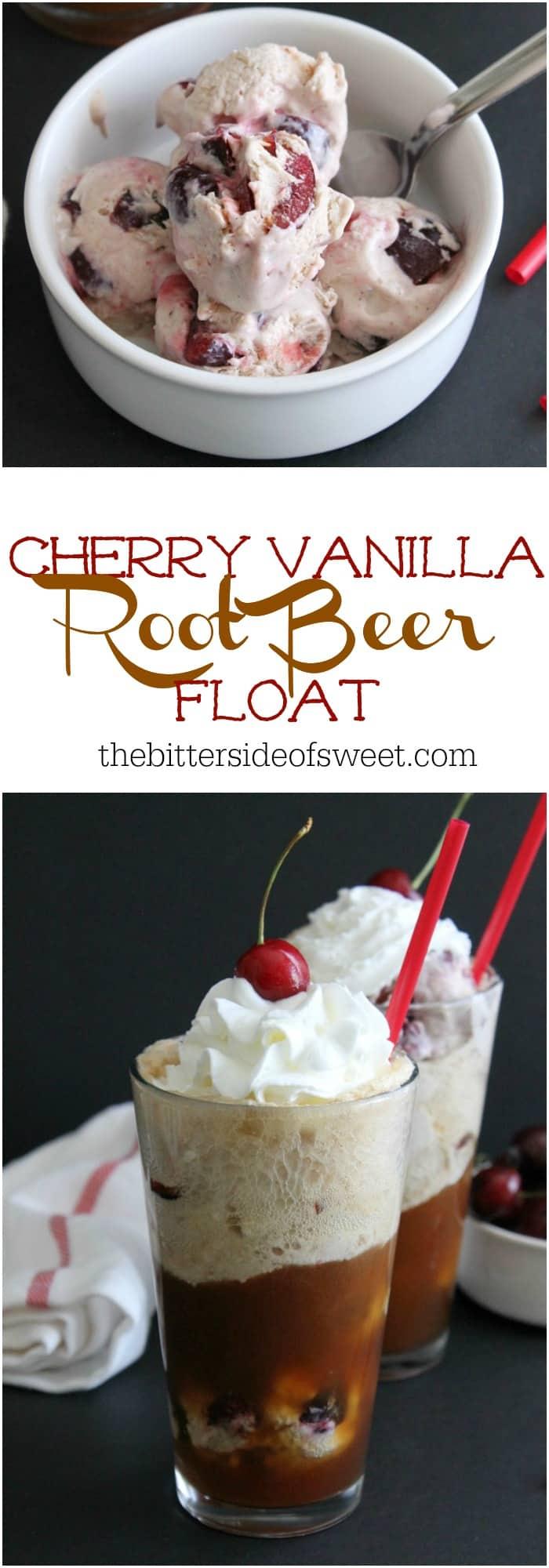 Cherry Vanilla Root Beer Float