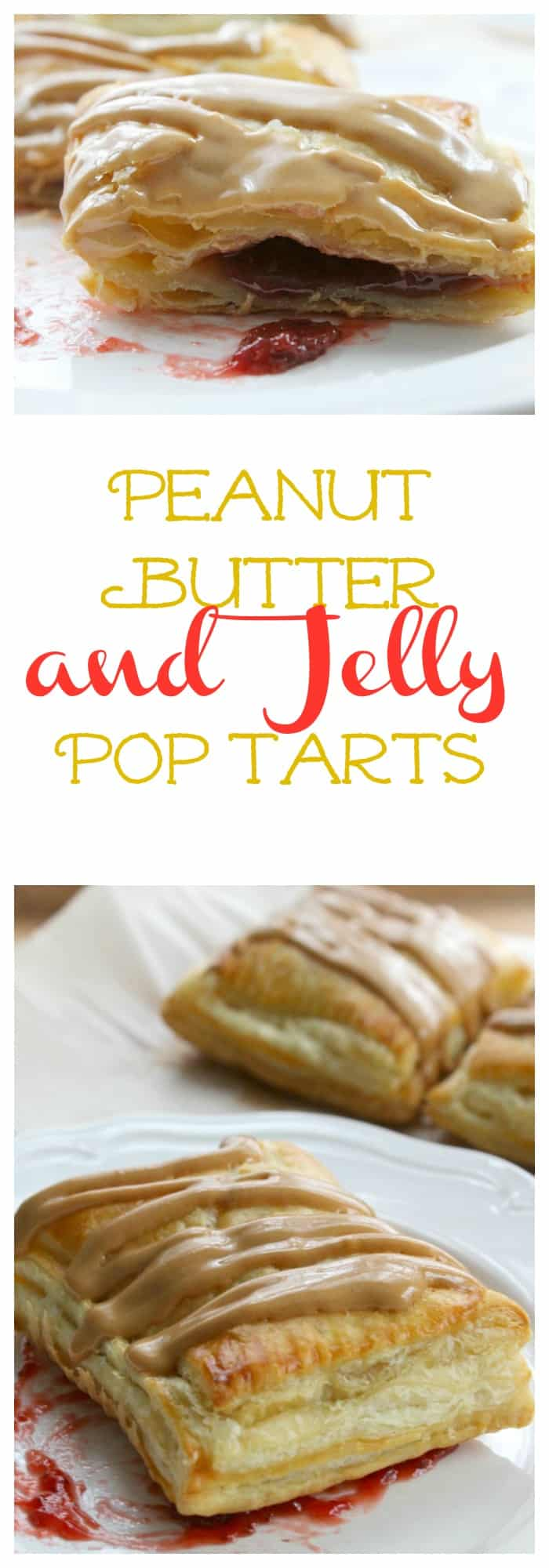 Peanut Butter and Jelly Pop Tarts | The Bitter Side of Sweet