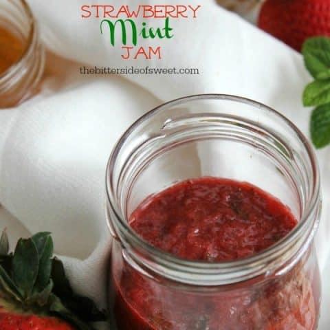 Strawberry Mint Jam