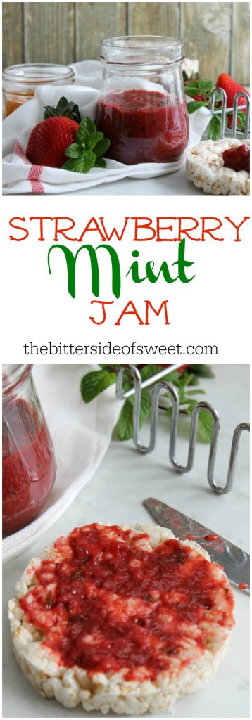 Strawberry Mint Jam | The Bitter Side of Sweet