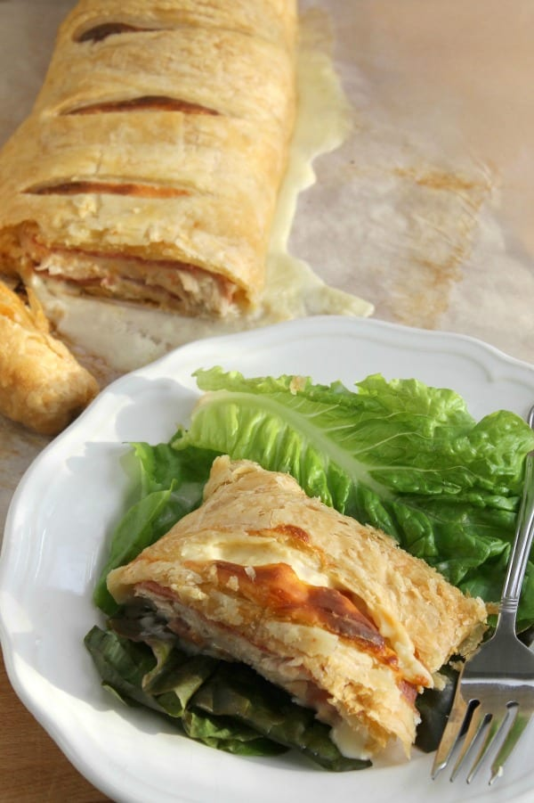 Chicken Cordon Bleu Puff Pastry 2 B