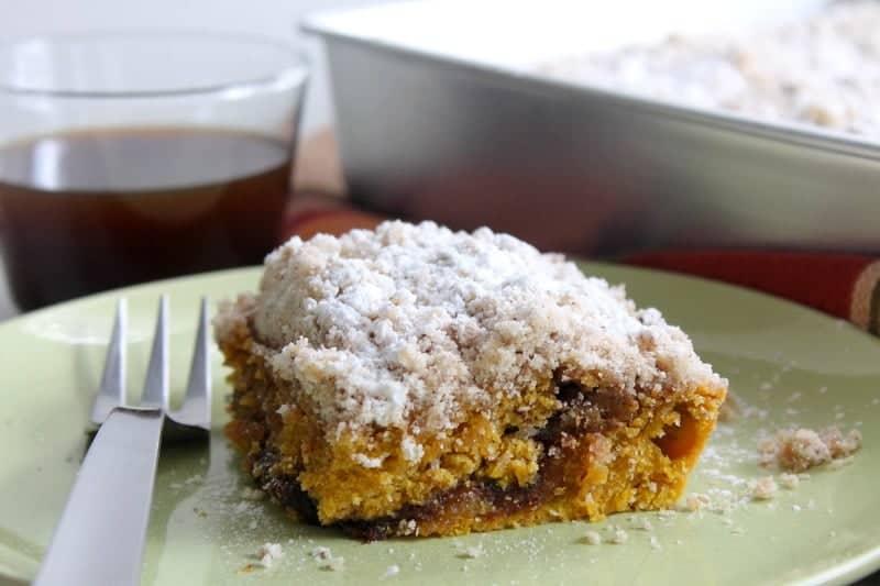 Pumpkin Coffee Cake   The Bitter Side of Sweet #SundaySupper