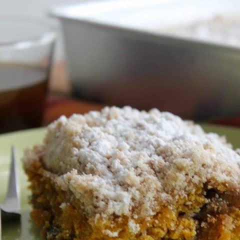 Pumpkin Coffee Cake #SundaySupper