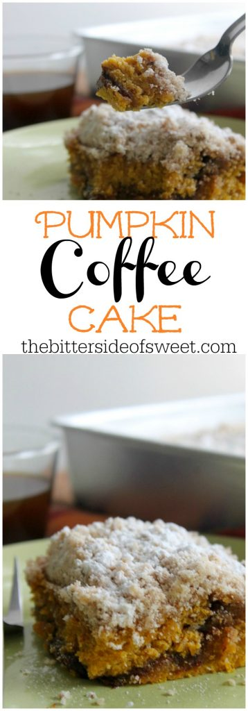 Pumpkin Coffee Cake | The Bitter Side of Sweet #SundaySupper