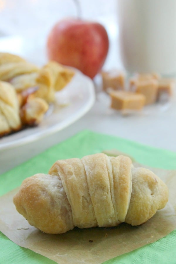 Caramel Apple Croissants | The Bitter Side of Sweet
