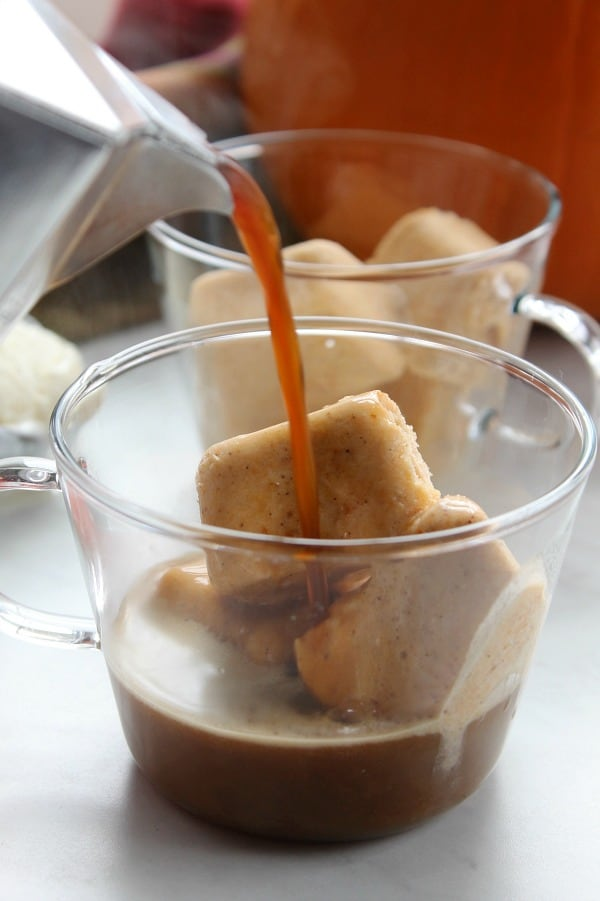 Pumpkin Spice Affogato | The Bitter Side of Sweet