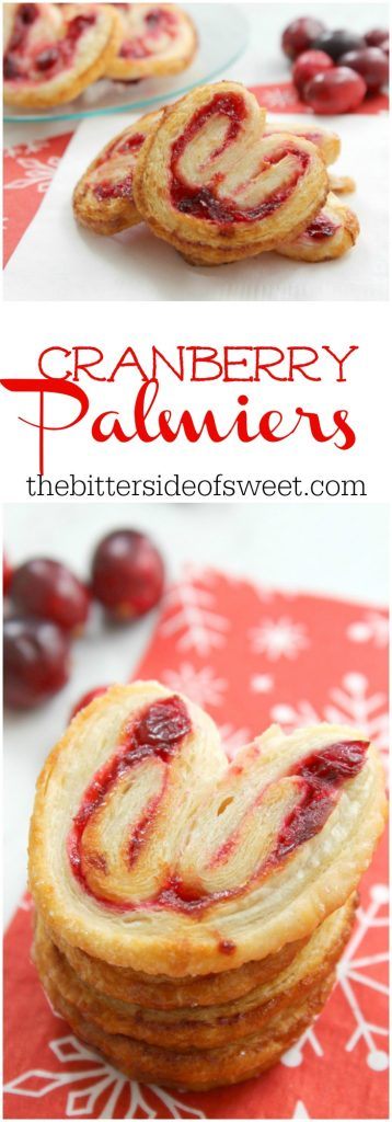Cranberry Palmiers