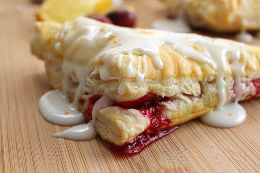 Orange Cranberry Turnovers | The Bitter Side of Sweet #CranberryWeek