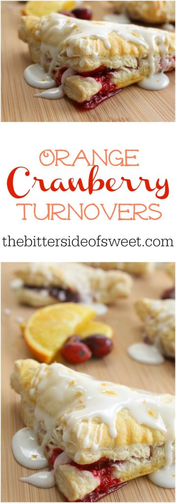 Orange Cranberry Turnovers