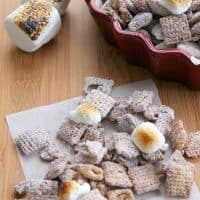 Toasted Marshmallow Muddy Buddies