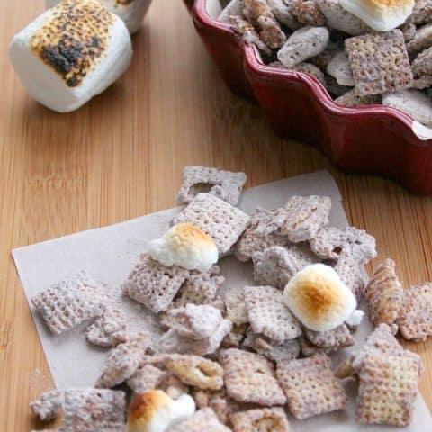 Toasted Marshmallow Muddy Buddies