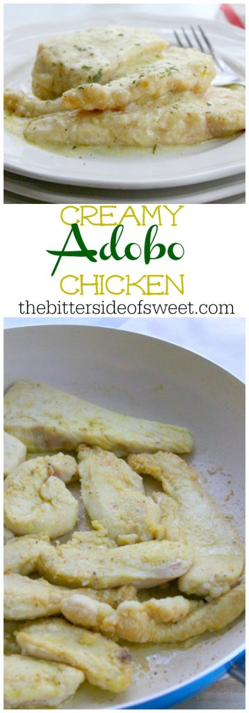 Creamy Adobo Chicken | The Bitter Side of Sweet