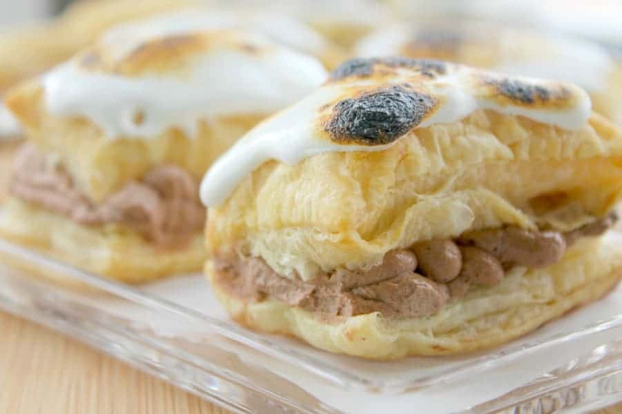 Toasted Marshmallow Napoleons | The Bitter Side of Sweet