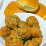 Slow Cooker Meatball Sliders   The Bitter Side of Sweet
