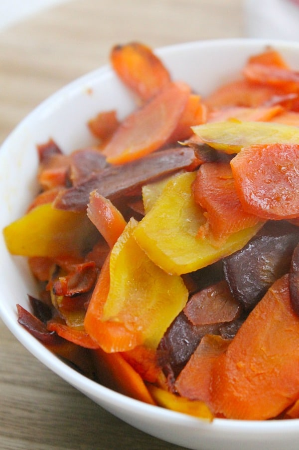 Easy Cooked Carrots Recipe | The Bitter Side of Sweet