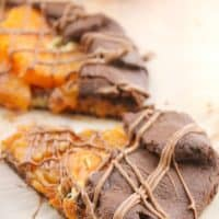 Chocolate Orange Free Form Pie (#PiDay)