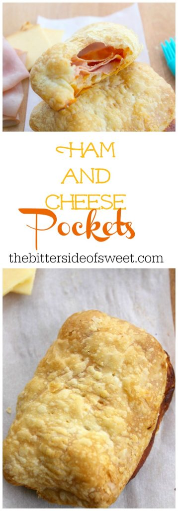 Ham and Cheese Pockets | The Bitter Side of Sweet
