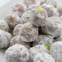 Lemon Donut Holes
