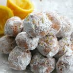 Lemon Donut Holes | The Bitter Side of Sweet