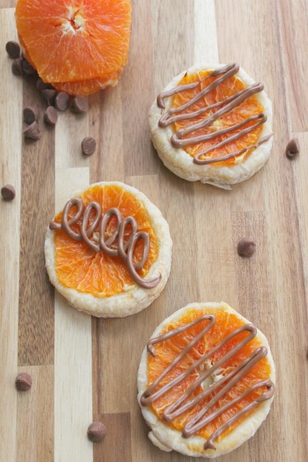 Individual Chocolate Orange Tarts Pic