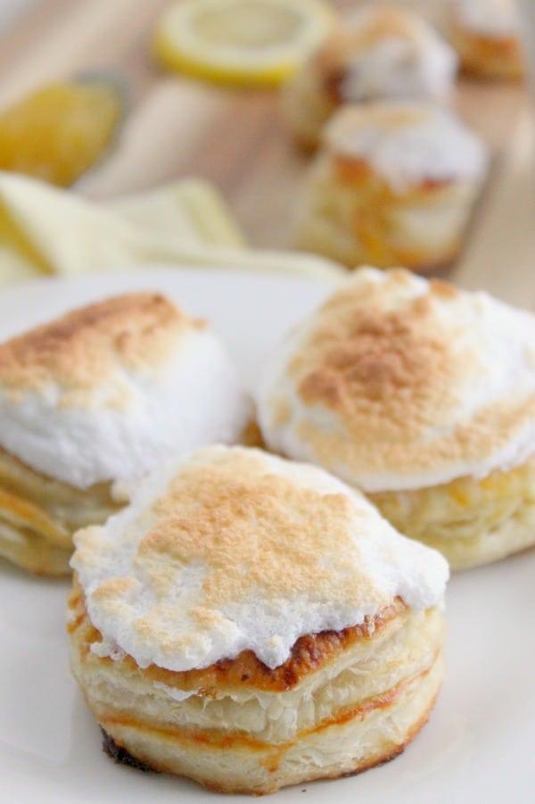 Lemon Meringue Donuts | The Bitter Side of Sweet