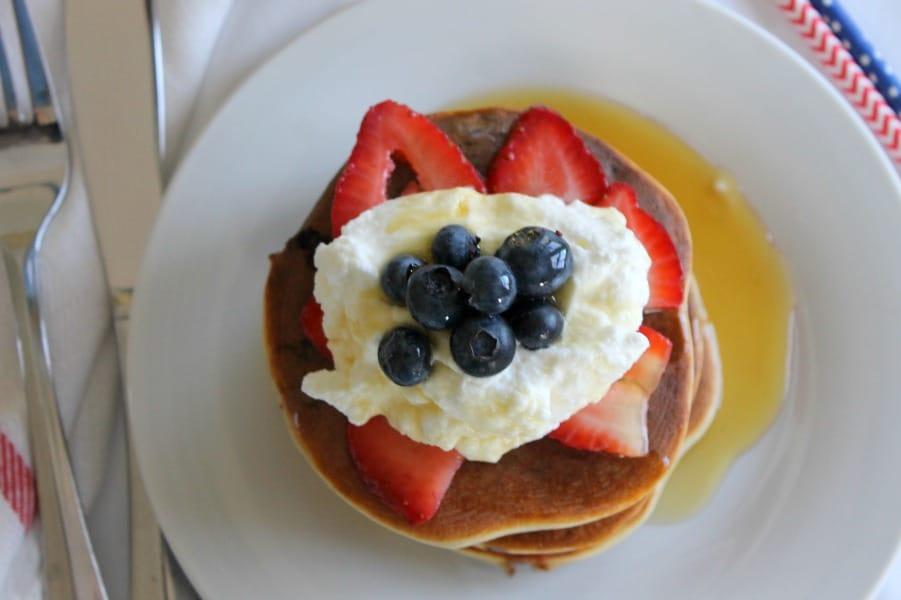 Mixed Berry Pancakes Protein Photo